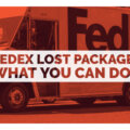 fedex lost package what you can do