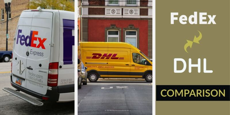 dhl vs fedex detailed comparison