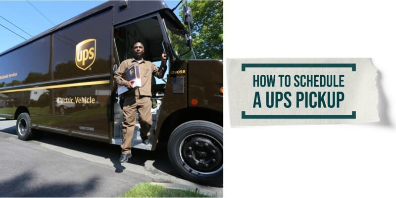 How to schedule a UPS Pickup: Simple Steps