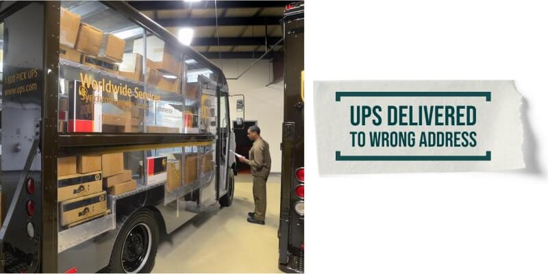 UPS delivered to Wrong Address: What to Do