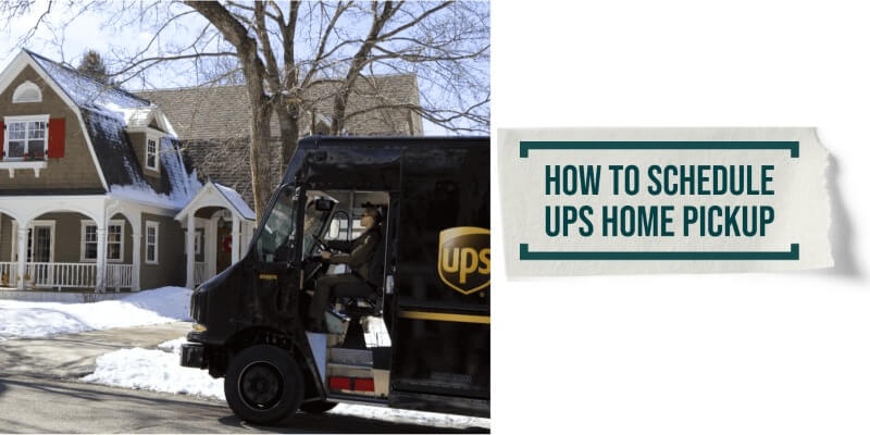 UPS Home Pickup: How to Schedule it?