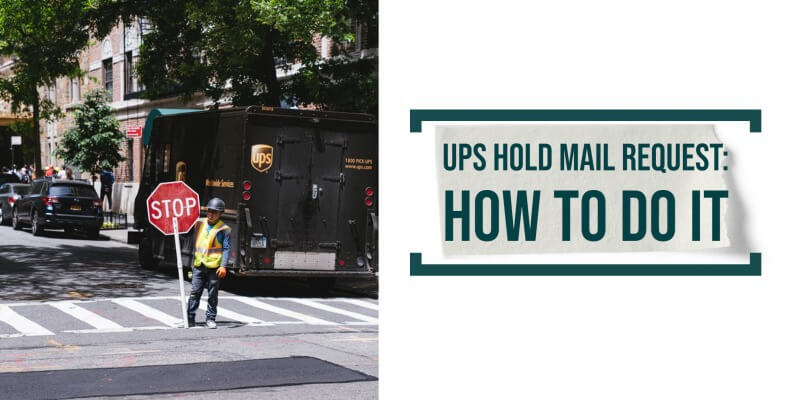 UPS hold mail: How to Do It?