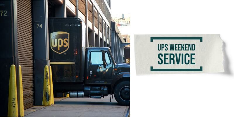 UPS Weekend Service: All the details you need to know about