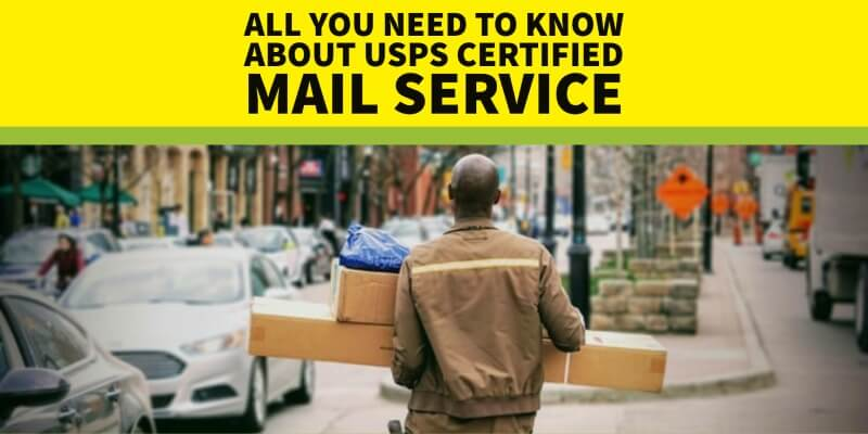 USPS Certified Mail Service full guide