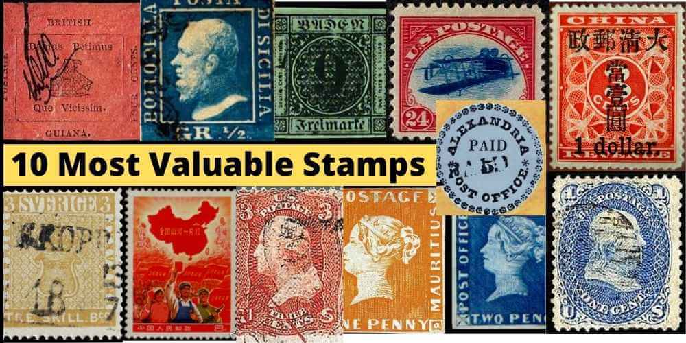 10 Most Valuable Stamps