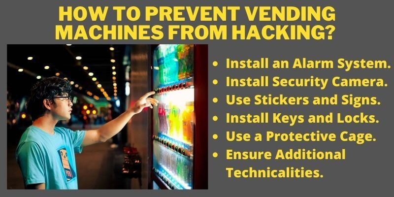 How to Prevent Vending Machines from Hacking