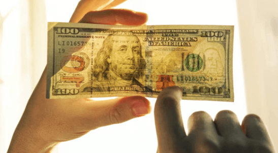 can counterfeit money be traced?